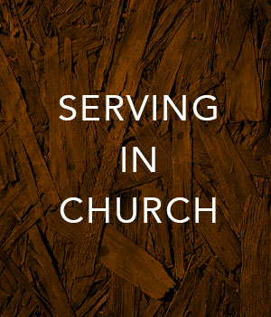 Serving in Church