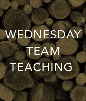 Wednesday Team Teaching